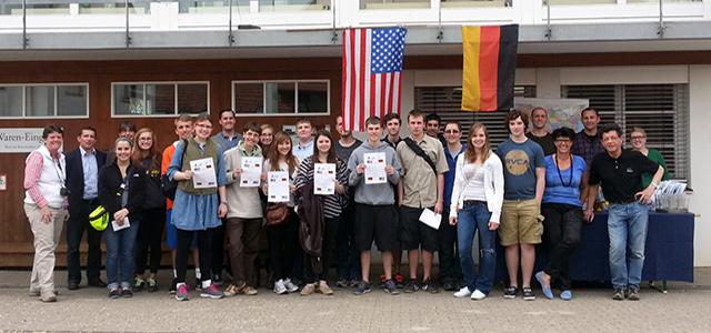 Besuch aus Übersee · Schreinerei Bührer, Freiamt · Bild Nr.1