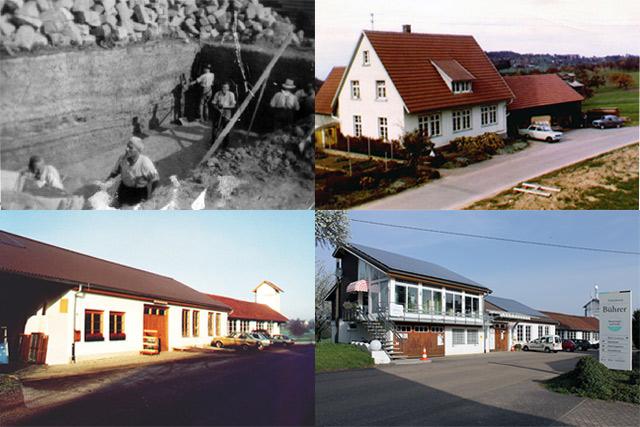 von links oben nach rechts unten: (1948, 1970, 1992, 2013)