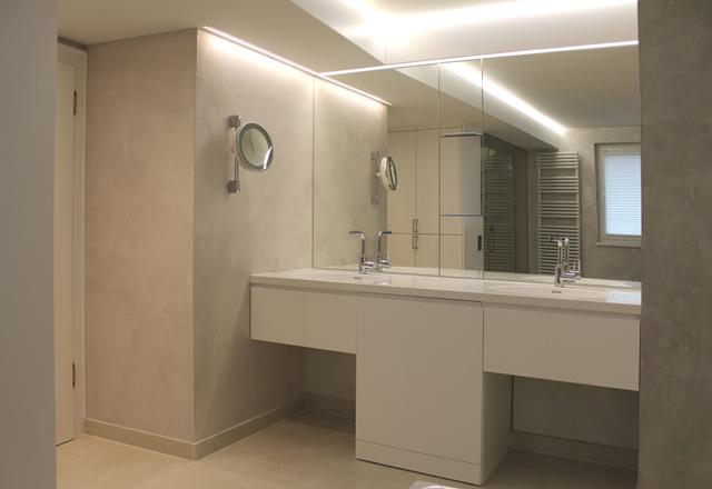 Badezimmer mit individueller Dampfdusche · Schreinerei Bührer, Freiamt · Bild Nr.1