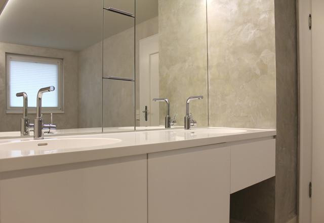 Badezimmer mit individueller Dampfdusche · Schreinerei Bührer, Freiamt · Bild Nr.3
