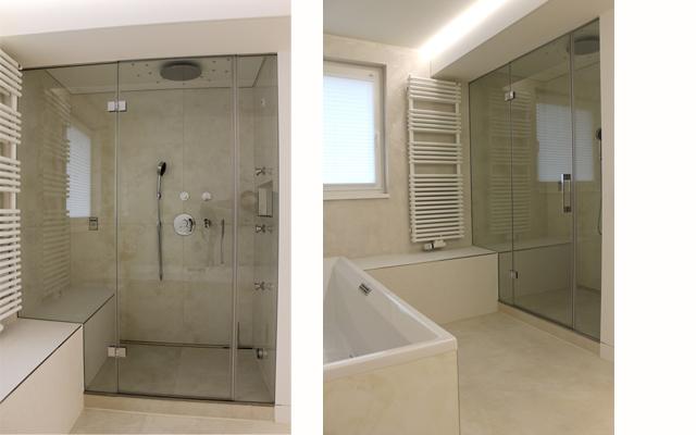 Badezimmer mit individueller Dampfdusche · Schreinerei Bührer, Freiamt · Bild Nr.2
