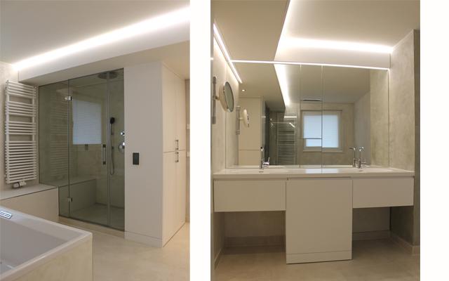 Badezimmer mit individueller Dampfdusche · Schreinerei Bührer, Freiamt · Bild Nr.4