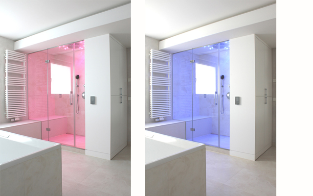 unterschiedliche LED-Farben (ohne Dampfbefüllung)