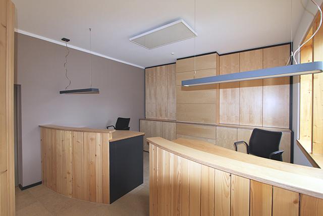 Planung und Umsetzung von Büroeinbaumöbeln · Schreinerei Bührer, Freiamt · Bild Nr.1