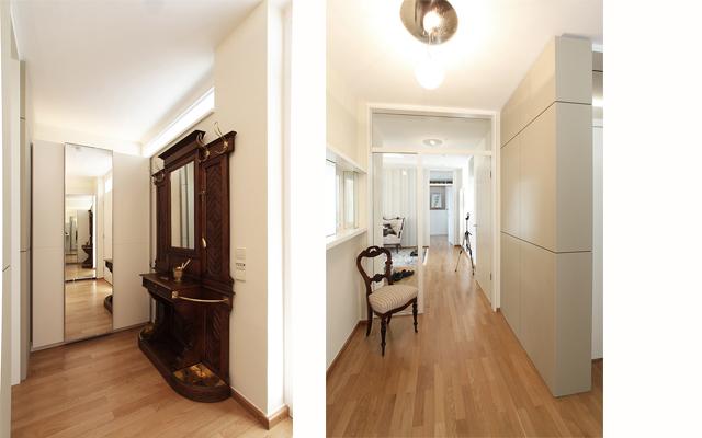 Eingangsbereich · Schreinerei Bührer, Freiamt · Bild Nr.2