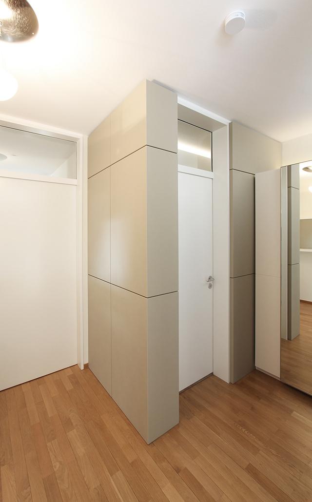 Eingangsbereich · Schreinerei Bührer, Freiamt · Bild Nr.7