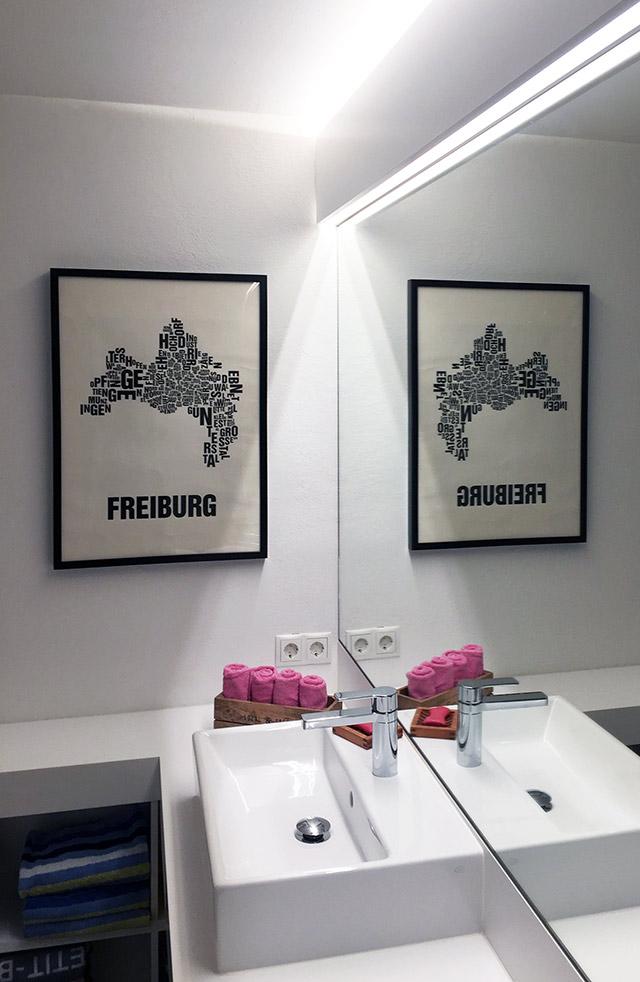 Entwurf, Planung und Umsetzung von Badeinbaumöbeln · Schreinerei Bührer, Freiamt · Bild Nr.1