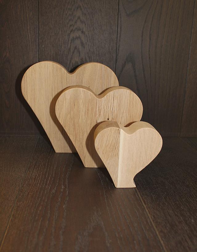 Herzen aus Holz · Schreinerei Bührer, Freiamt · Bild Nr.2