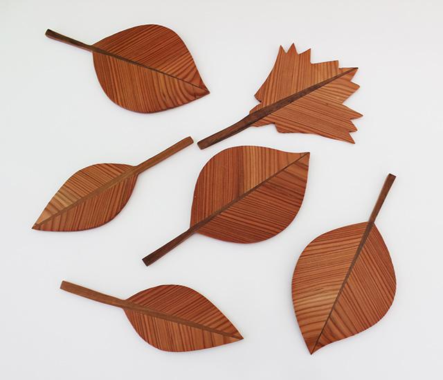 Blätter aus Holz · Schreinerei Bührer, Freiamt · Bild Nr.1