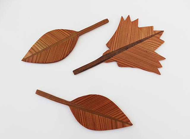 Blätter aus Holz · Schreinerei Bührer, Freiamt · Bild Nr.3