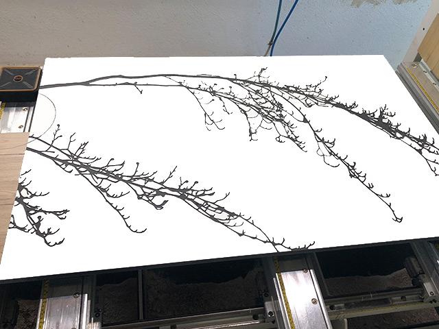 Holzschnitte · Schreinerei Bührer, Freiamt · Bild Nr.1