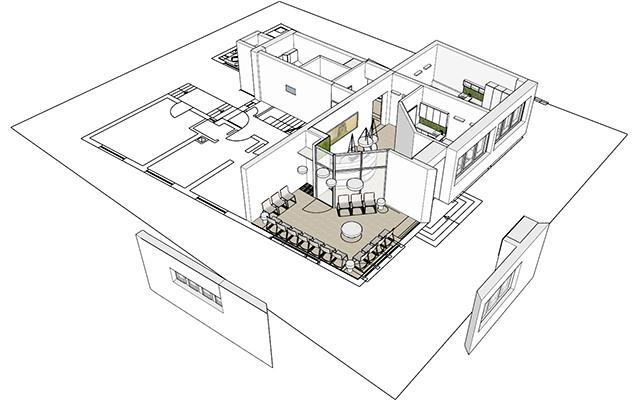 3D-Planung auf Grundrissbasis