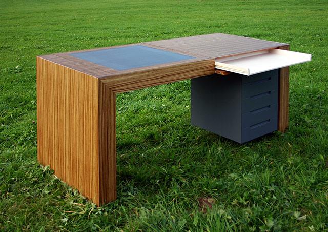 Multifunktionaler Schreibtisch  · Schreinerei Bührer, Freiamt · Bild Nr.2