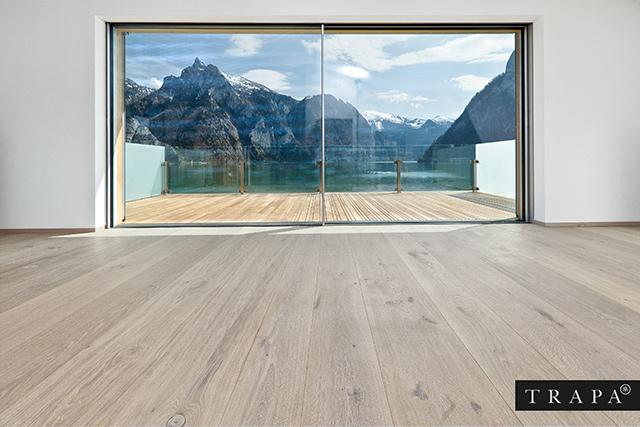 Gutsboden Eiche Tradition gebürstet Carrara