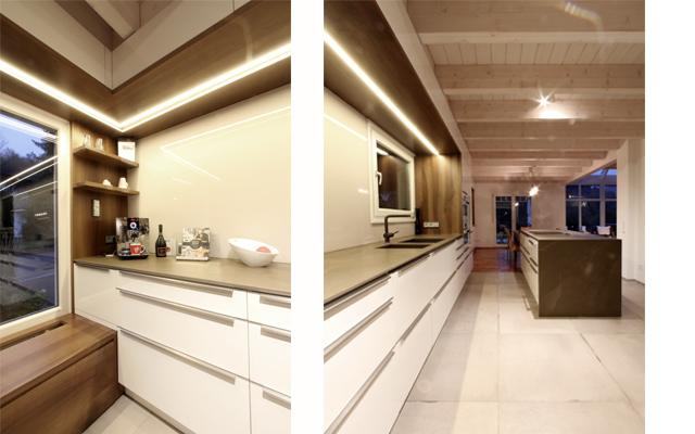 Großzügige Wohnküche mit Sitzecke · Schreinerei Bührer, Freiamt · Bild Nr.4